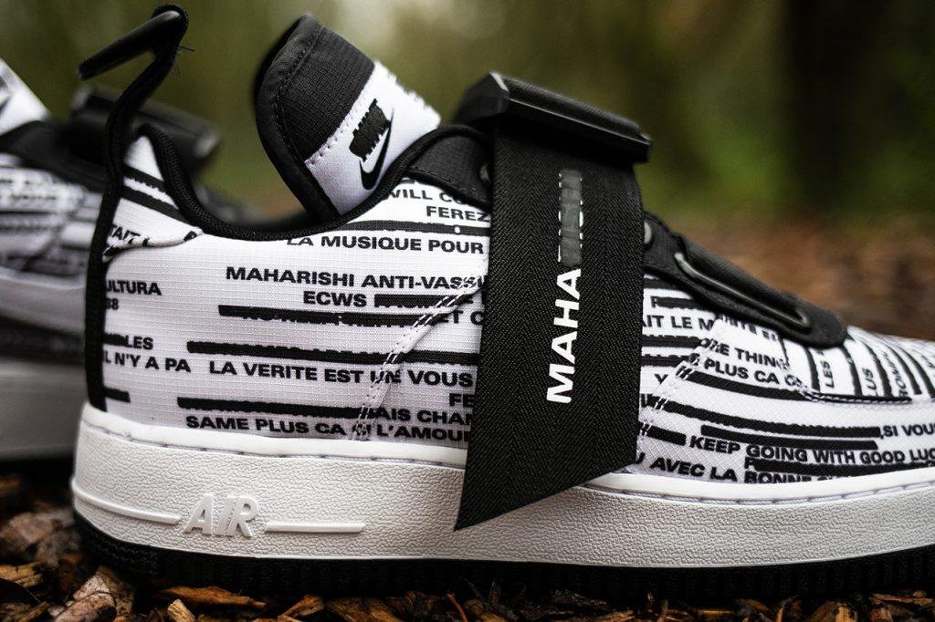 Maharishi x Nike Air Foce 1 Bowfin