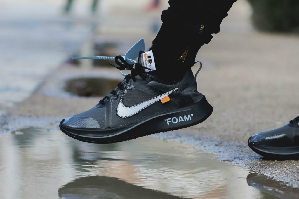 Off-White x Nike Zoom Fly Black 2