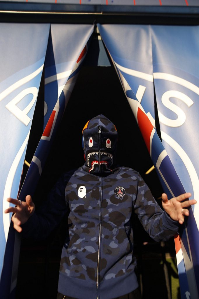 Bape x Paris Saint Germain
