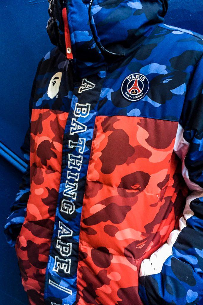 Bape x Paris Saint Germain