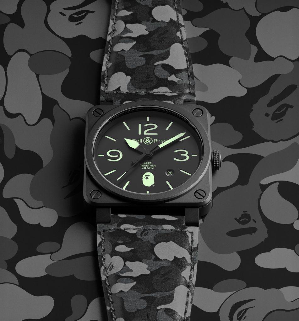 Đồng hồ Bape x Bell & Ross BR 03-92