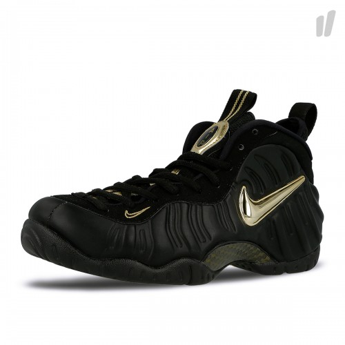 Nike Air Foamposite Pro black gold