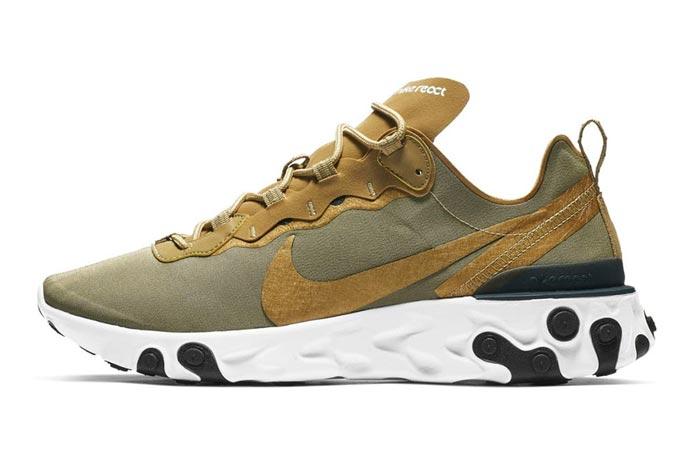 Nike React Element Olive