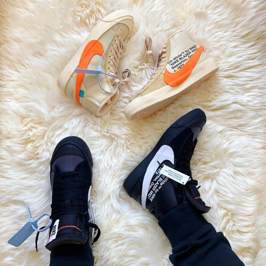 off-white nike blazer