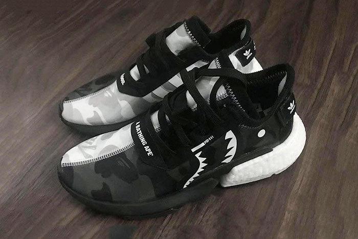 BAPE x Neighborhood x adidas POD-S3.1