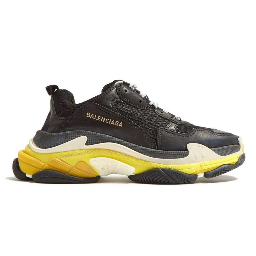Balenciaga Triple S yellow black