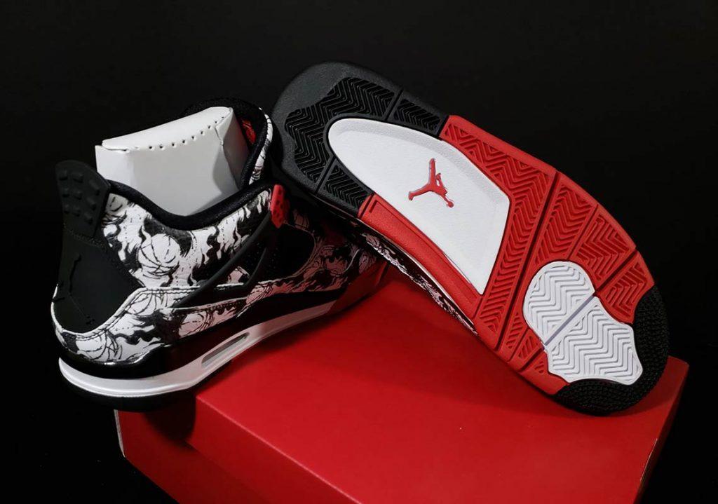 Nike Air Jordan 4 Tattoo