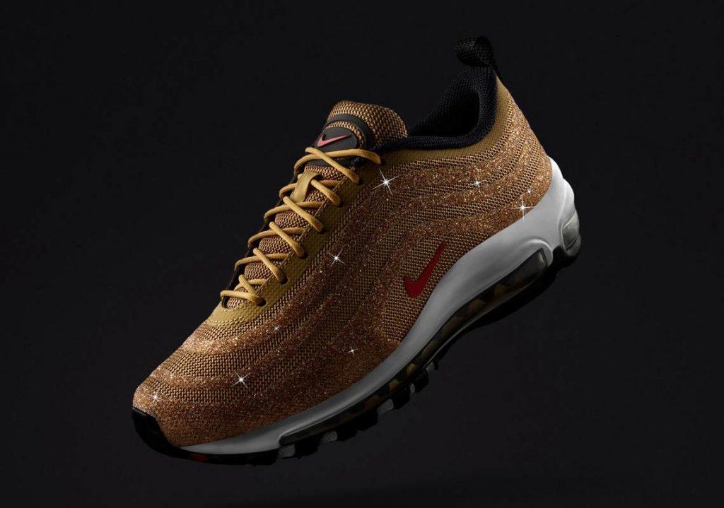Nike Air Max 97 Swarovski Gold