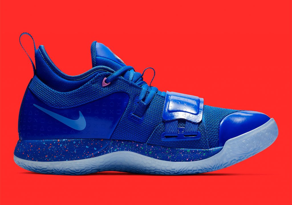 PlayStation x Nike PG 2.5 Royal Blue