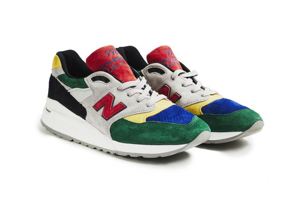 Todd Snyder x New Blance 998 Color Spectrum