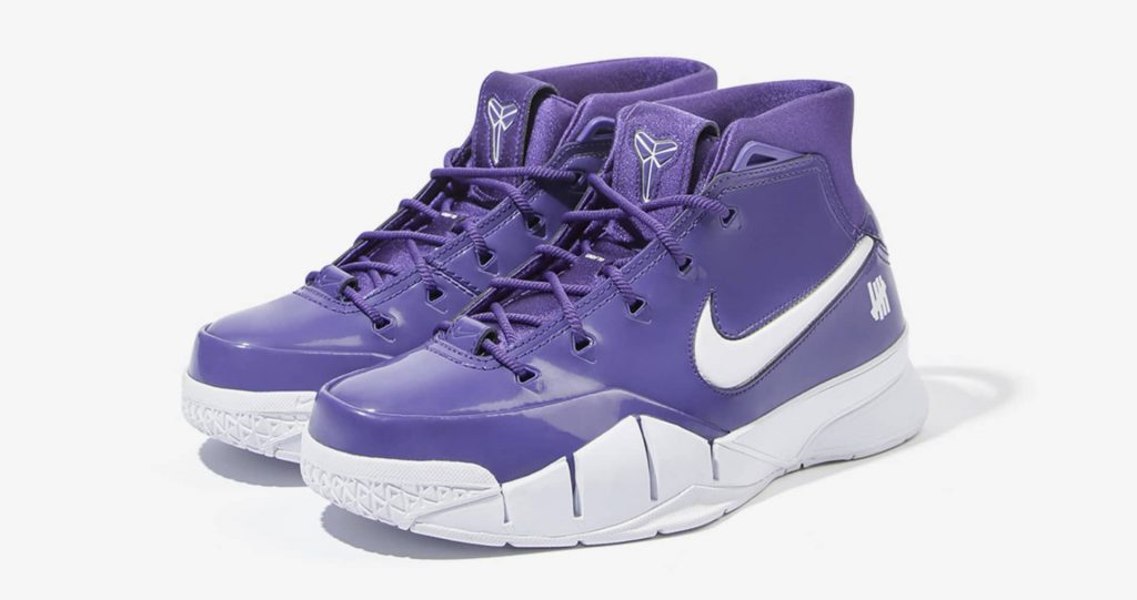 Undefeated x Nike Kobe 1 Protro Purple