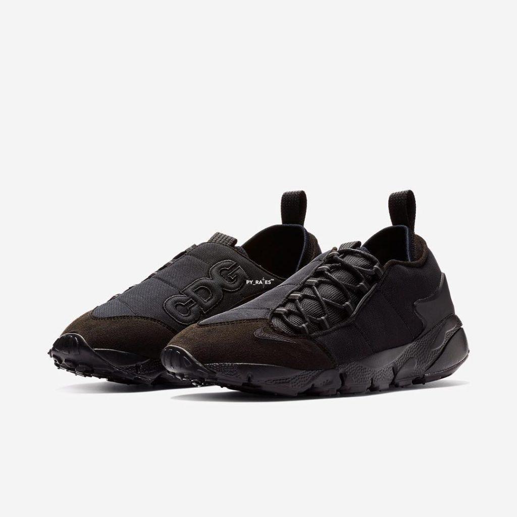 Comme des Garcons x Nike Black Air Footscape
