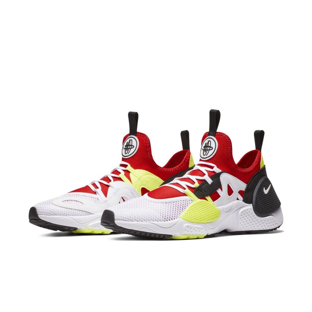 Nike Air Huarache Edge TXT White University Red