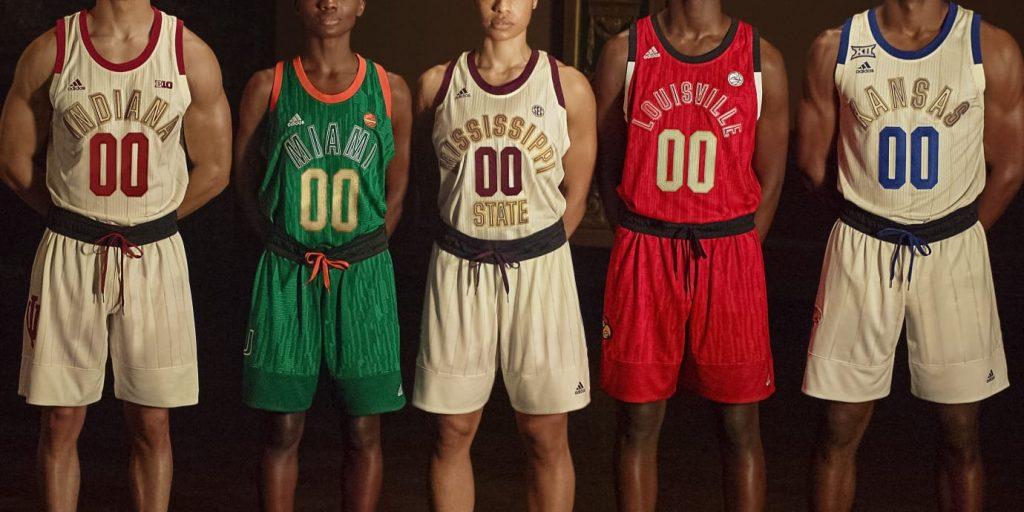 Adidas Harlem Renaissance jerseys